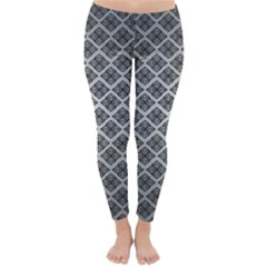 Silver The Background Classic Winter Leggings