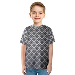 Silver The Background Kids  Sport Mesh Tee