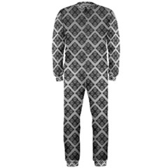 Silver The Background Onepiece Jumpsuit (men)