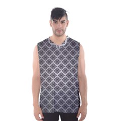 Silver The Background Men s Basketball Tank Top