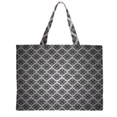 Silver The Background Large Tote Bag