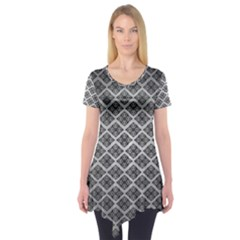 Silver The Background Short Sleeve Tunic