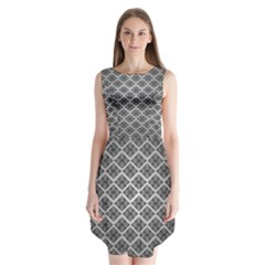 Silver The Background Sleeveless Chiffon Dress
