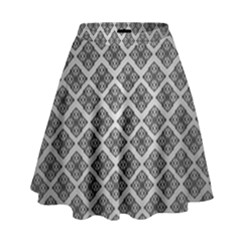 Silver The Background High Waist Skirt