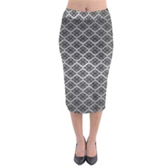 Silver The Background Midi Pencil Skirt