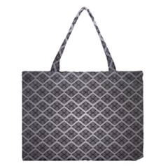 Silver The Background Medium Tote Bag