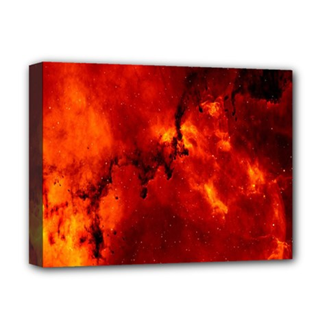 Star Clusters Rosette Nebula Star Deluxe Canvas 16  X 12