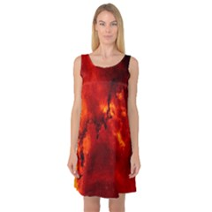 Star Clusters Rosette Nebula Star Sleeveless Satin Nightdress