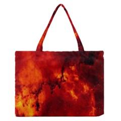 Star Clusters Rosette Nebula Star Medium Zipper Tote Bag