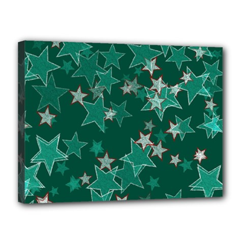 Star Seamless Tile Background Abstract Canvas 16  X 12