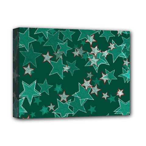 Star Seamless Tile Background Abstract Deluxe Canvas 16  X 12