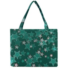 Star Seamless Tile Background Abstract Mini Tote Bag