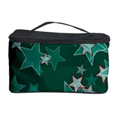 Star Seamless Tile Background Abstract Cosmetic Storage Case