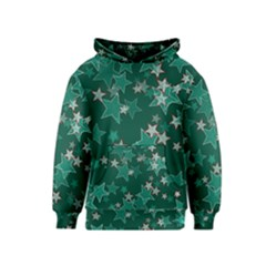 Star Seamless Tile Background Abstract Kids  Pullover Hoodie