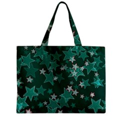 Star Seamless Tile Background Abstract Zipper Mini Tote Bag