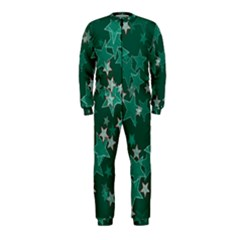Star Seamless Tile Background Abstract Onepiece Jumpsuit (kids)