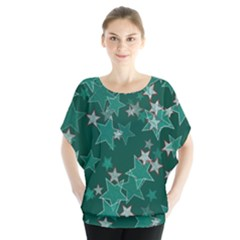 Star Seamless Tile Background Abstract Blouse