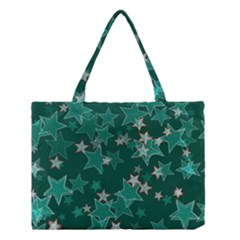 Star Seamless Tile Background Abstract Medium Tote Bag