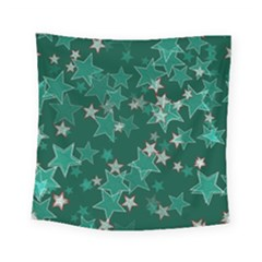 Star Seamless Tile Background Abstract Square Tapestry (small)