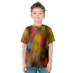 Star Background Texture Pattern Kids  Cotton Tee