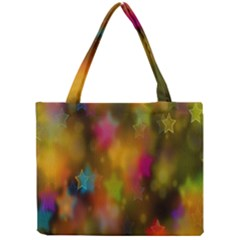 Star Background Texture Pattern Mini Tote Bag