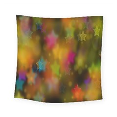 Star Background Texture Pattern Square Tapestry (small)