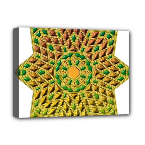Star Pattern Tile Background Image Deluxe Canvas 16  X 12