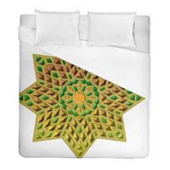 Star Pattern Tile Background Image Duvet Cover (full/ Double Size)