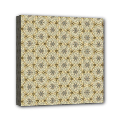 Star Basket Pattern Basket Pattern Mini Canvas 6  X 6