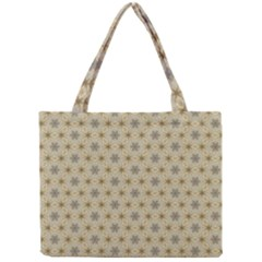 Star Basket Pattern Basket Pattern Mini Tote Bag