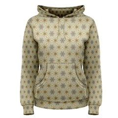 Star Basket Pattern Basket Pattern Women s Pullover Hoodie