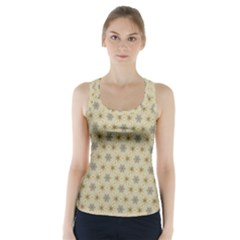 Star Basket Pattern Basket Pattern Racer Back Sports Top