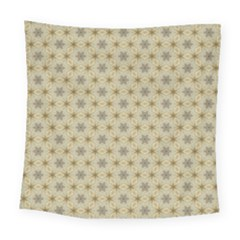 Star Basket Pattern Basket Pattern Square Tapestry (large)