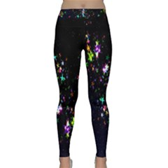 Star Structure Many Repetition Classic Yoga Leggings