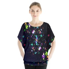 Star Structure Many Repetition Blouse