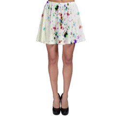Star Structure Many Repetition Skater Skirt