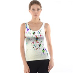 Star Structure Many Repetition Tank Top