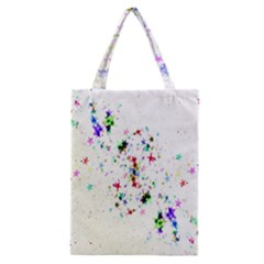 Star Structure Many Repetition Classic Tote Bag