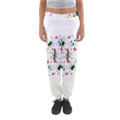 Star Structure Many Repetition Women s Jogger Sweatpants