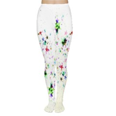 Star Structure Many Repetition Women s Tights