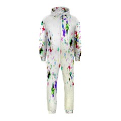 Star Structure Many Repetition Hooded Jumpsuit (kids)