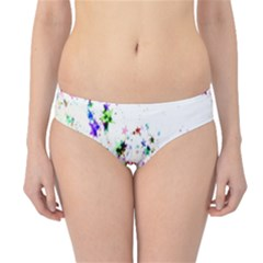 Star Structure Many Repetition Hipster Bikini Bottoms