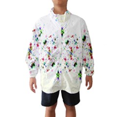 Star Structure Many Repetition Wind Breaker (kids)
