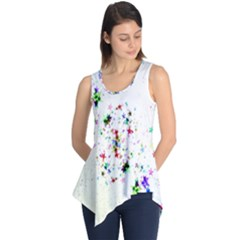 Star Structure Many Repetition Sleeveless Tunic