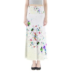 Star Structure Many Repetition Maxi Skirts