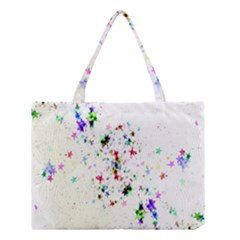 Star Structure Many Repetition Medium Tote Bag