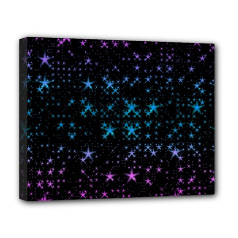 Stars Pattern Seamless Design Deluxe Canvas 20  X 16