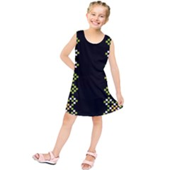 Vintage Pattern Background  Vector Seamless Kids  Tunic Dress