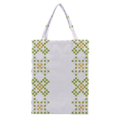 Vintage Pattern Background  Vector Seamless Classic Tote Bag
