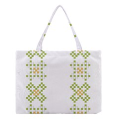 Vintage Pattern Background  Vector Seamless Medium Tote Bag